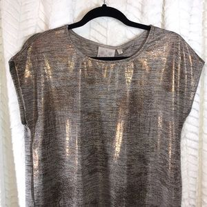 Bronze Shimmer Top, NWT
